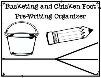 DBQ Bucketing and Chicken Foot Pre-Writing Organizer