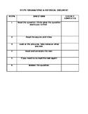 DBQ Checklist