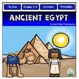 Daily Life in Ancient Egypt Unit with Passages & Flip-Up Book