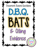 DBQ Document Based Questioning - Bats