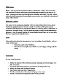 DBQ ESSAY Ancient Egypt Document Based Questions and Essay