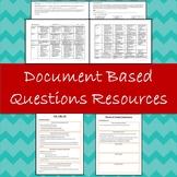 DBQ Essay Rubric, Document Analysis +  Essay Organization