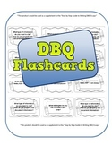 DBQ Flash Cards