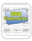 DBQ Flash Cards