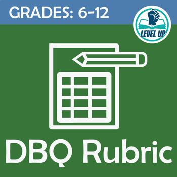 Student-Friendly DBQ Rubric - Common Core Aligned