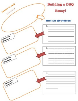 DBQ Graphic Organizer and Planner. EASY TO FOLLOW!