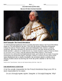 DBQ: How Responsible Was King Louis XVI for the onset of the French Revolution