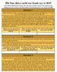 DBQ: How did a world war break out in 1914? GOOGLE DOCS & PDF