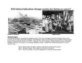 DBQ:  Industrial Revolution