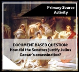 DBQ: Julius Caesar Primary Source Analysis and Essay