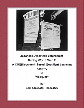 DBQ: Life of a Japanese-American Child Living in an Internment Camp during WW2)