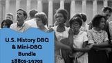 DBQ & Mini-DBQ Bundle Distance Learning