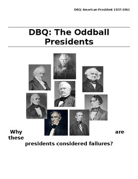 DBQ - Oddball Presidents