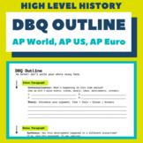 DBQ Outline (AP World, AP US, AP European)