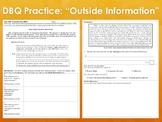 "DBQ Practice ""Outside Information""—Progressive Era"