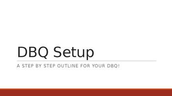 DBQ Setup PPT