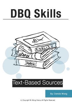 DBQ Skills-Text Based Sources