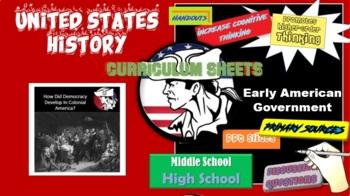 American Government / History DBQ The Development of Democracy in America