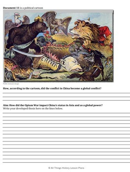 DBQ: The Effects of the Opium War on China