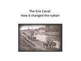 DBQ - The Erie Canal: How it changed the nation