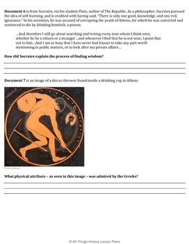 DBQ: The Legacy of Ancient Greece - Common Core State Standards CCSS