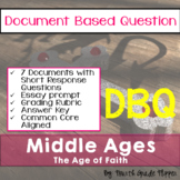 DBQ The Middle Ages Document Based Question