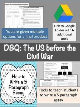 DBQ: The U.S. Before the Civil War