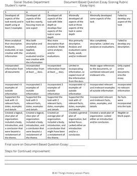 DBQ: Triangle Slave Trade-Common Core State Standards CCSS