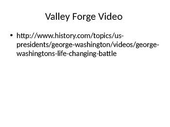 DBQ Valley Forge - Free Resource