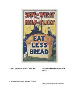 DBQ - WWI Propaganda: Eat Less Bread