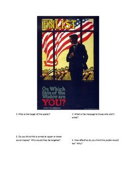 DBQ - WWI Propaganda: Enlist