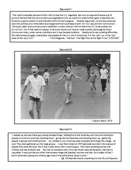 DBQ:  War in Vietnam