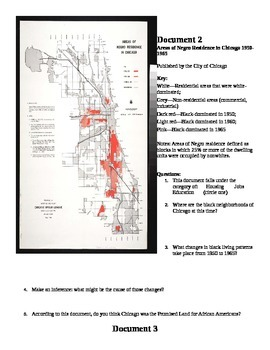 DBQ - Was Chicago the Promised Land for African Americans?