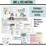 DBQ and CER Writing | Digital and Print