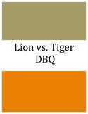 DBQ for Beginners: Tiger vs. Lion