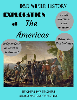 DBQ on Conquest of the Americas