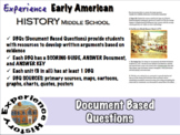 Experiencing Early American History: DBQs / Middle School