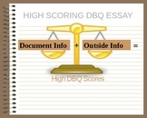 DBQ's a Student's Best Friend--How To Answer a Document-Ba