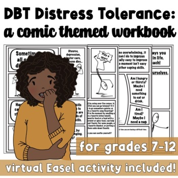 DBT Distress Tolerance Skills: Build the Self-Efficacy of
