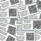 DBT Distress Tolerance Skills: QR Code Coping Cards