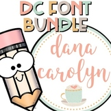 DC Font Bundle {Personal and Commercial Use}