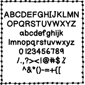 DC Puff Paint Font {Personal and Commercial Use}