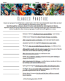 DC Superhero Themed Grammar Practice with Phrases and Clauses