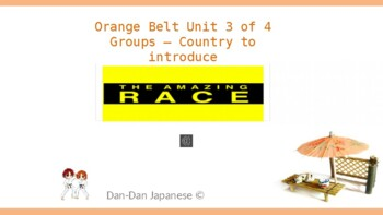DDJ Orange Belt Unit 3 of 4 [The Amazing Race] SOUTH KOREA