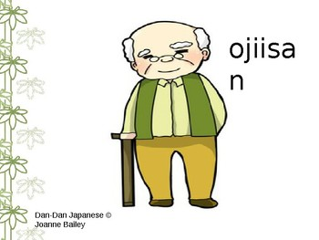 DDJ White Belt Unit 1 of 4 [Family First] Family members ppt; ROMAJI {だれですか?}