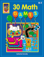 30 Math Games (Grades PreK-1)