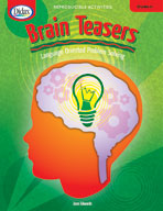 Brain Teasers: Language-Oriented Problem Solving (Grades 6-8)