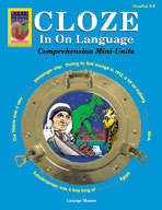 Cloze In On Language (Grades 3-5)