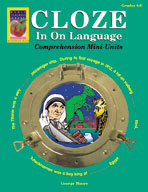 Cloze In On Language (Grades 4-6)