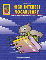 High Interest Activities in Vocabulary